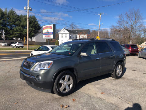 2011 GMC Acadia for sale at Beachside Motors, Inc. in Ludlow MA