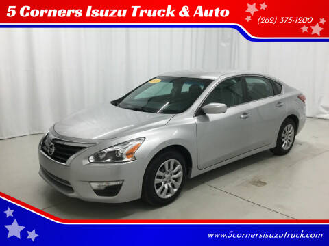 2013 Nissan Altima for sale at 5 Corners Isuzu Truck & Auto in Cedarburg WI