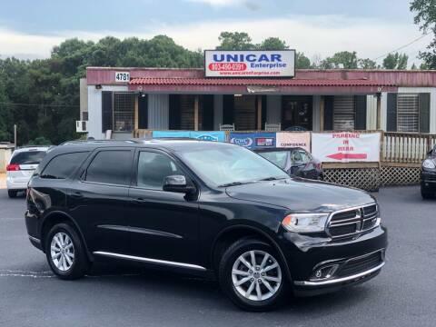 2014 Dodge Durango for sale at Unicar Enterprise in Lexington SC