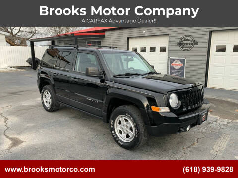 2014 Jeep Patriot for sale at Brooks Motor Company in Columbia IL
