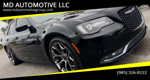 2015 Chrysler 300 for sale at MD AUTOMOTIVE LLC in Slidell LA