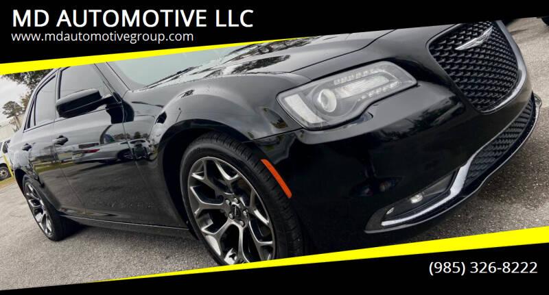 2015 Chrysler 300 for sale at MD AUTOMOTIVE LLC in Slidell LA