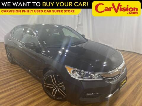 2016 Honda Accord for sale at Car Vision Mitsubishi Norristown - Car Vision Philly Used Car SuperStore in Philadelphia PA