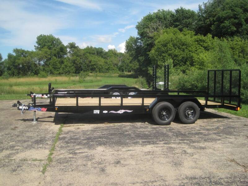 2021 Liberty 83 IN X 20 FT UTILITY TRAILER for sale at G T AUTO PLAZA Inc in Pearl City IL