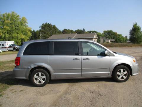 2013 Dodge Grand Caravan for sale at D & T AUTO INC in Columbus MN