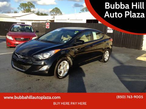 2012 Hyundai Elantra for sale at Bubba Hill Auto Plaza in Panama City FL
