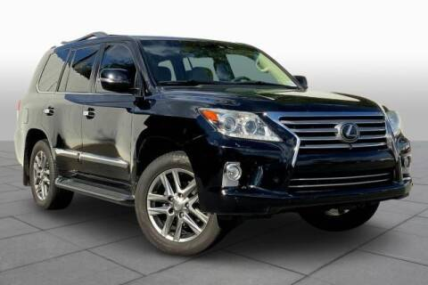 2013 Lexus LX 570 for sale at CU Carfinders in Norcross GA