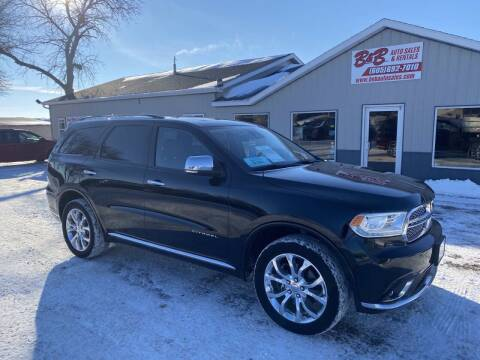 2017 Dodge Durango for sale at B & B Auto Sales in Brookings SD