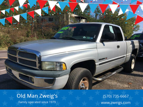 2001 Dodge Ram Pickup 1500 for sale at Old Man Zweig's in Plymouth PA
