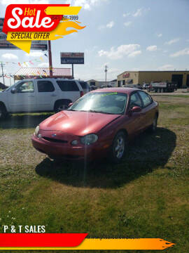 1996 Ford Taurus for sale at P & T SALES in Clear Lake IA