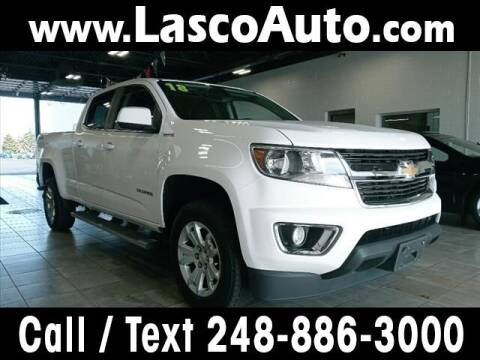 2018 Chevrolet Colorado for sale at Lasco of Waterford in Waterford MI