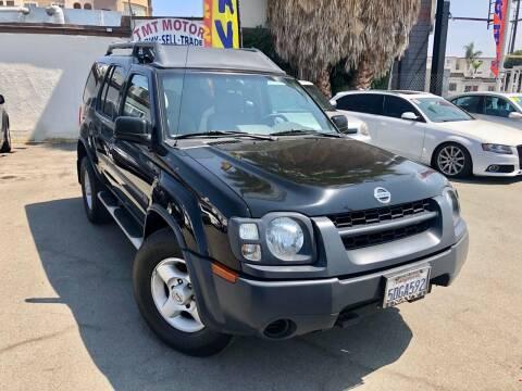 2003 Nissan Xterra for sale at TMT Motors in San Diego CA