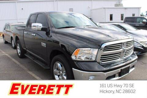 2018 RAM Ram Pickup 1500 for sale at Everett Chevrolet Buick GMC in Hickory NC