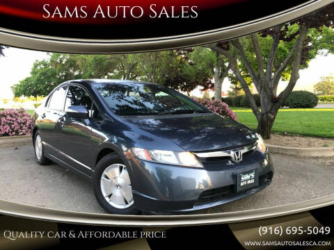 2007 Honda Civic for sale at Sams Auto Sales in North Highlands CA