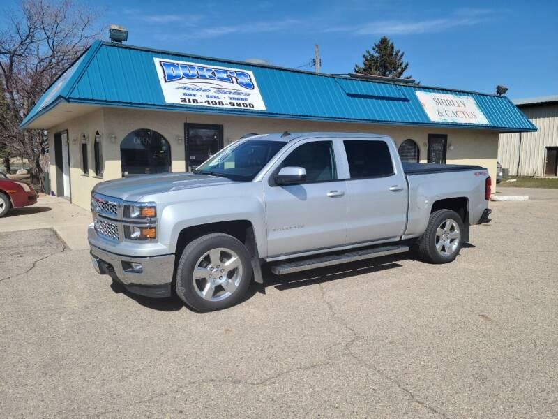 2014 Chevrolet Silverado 1500 for sale at Dukes Auto Sales in Glyndon MN