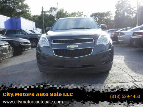 2012 Chevrolet Equinox for sale at City Motors Auto Sale LLC in Redford MI