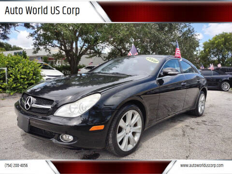 2008 Mercedes-Benz CLS for sale at Auto World US Corp in Plantation FL