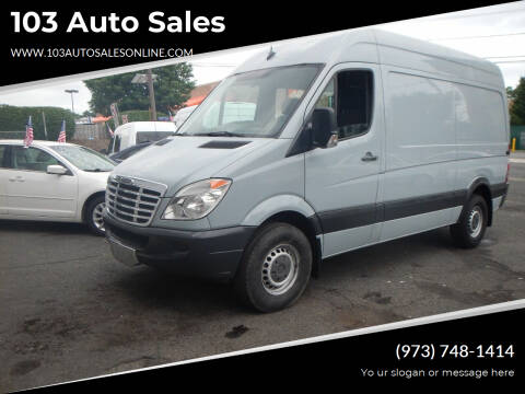 2012 Freightliner Sprinter Cargo for sale at 103 Auto Sales in Bloomfield NJ