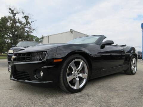 2011 Chevrolet Camaro for sale at Quality Investments in Tyler TX