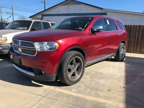 2013 Dodge Durango for sale at Texas Auto Broker in Killeen TX