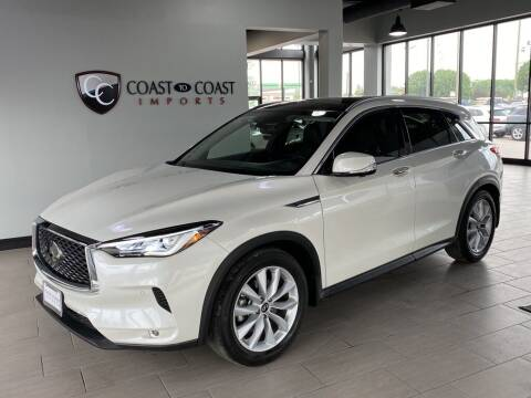 2019 Infiniti QX50 for sale at Coast to Coast Imports in Fishers IN