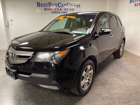 2007 Acura MDX for sale at Best Buy Car Co in Independence MO