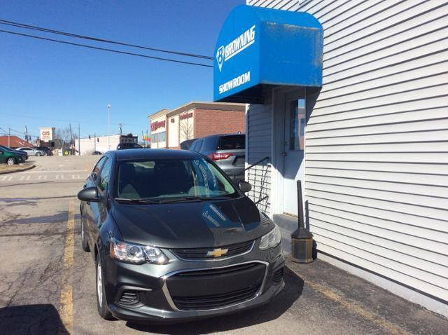 2017 Chevrolet Sonic for sale at Browning Chevrolet in Eminence KY
