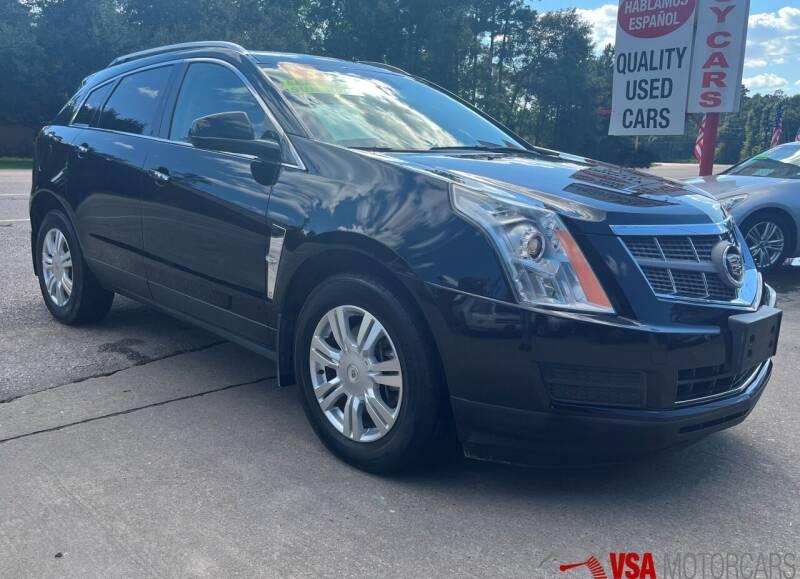 2012 Cadillac SRX for sale at VSA MotorCars in Cypress TX