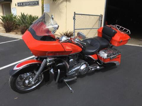 2009 Harley Davidson CVO Road Glide for sale at MANGIONE MOTORS ORANGE COUNTY in Costa Mesa CA