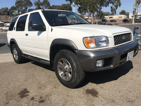 2001 Nissan Pathfinder for sale at Beyer Enterprise in San Ysidro CA