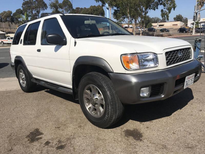 2001 Nissan Pathfinder for sale at Beyer Enterprise in San Ysidro CA