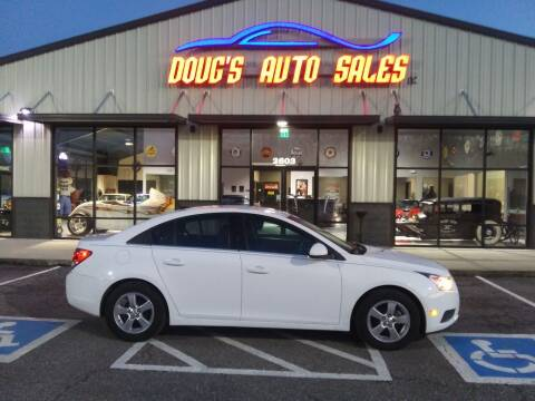 2014 Chevrolet Cruze for sale at DOUG'S AUTO SALES INC in Pleasant View TN
