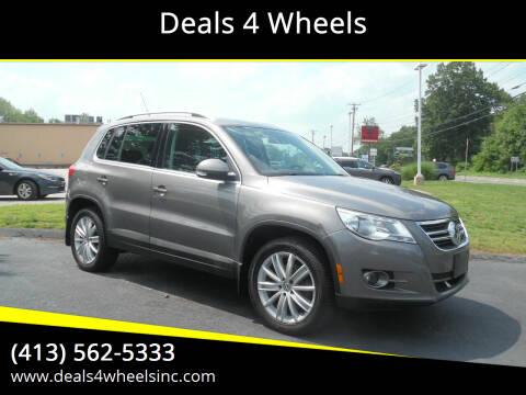 2011 Volkswagen Tiguan for sale at Deals 4 Wheels in Westfield MA