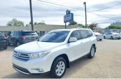 2013 Toyota Highlander for sale at Suzuki of Tulsa - Global car Sales in Tulsa OK