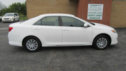 2012 Toyota Camry for sale at LENTZ USED VEHICLES INC in Waldo WI