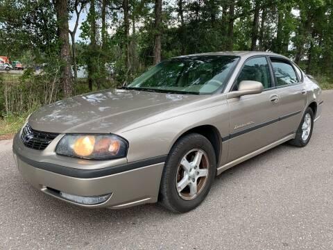 2003 Chevrolet Impala for sale at Next Autogas Auto Sales in Jacksonville FL