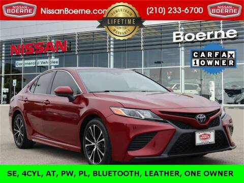 2018 Toyota Camry for sale at Nissan of Boerne in Boerne TX