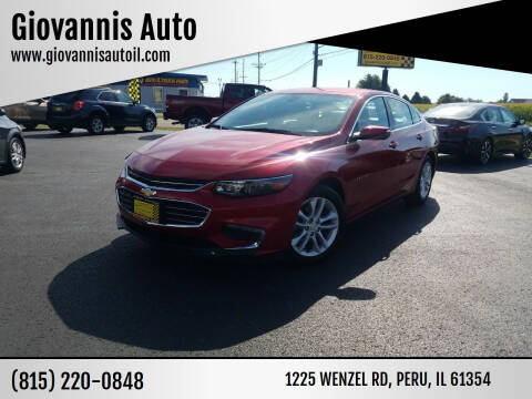 2016 Chevrolet Malibu for sale at Giovannis Auto in Peru IL