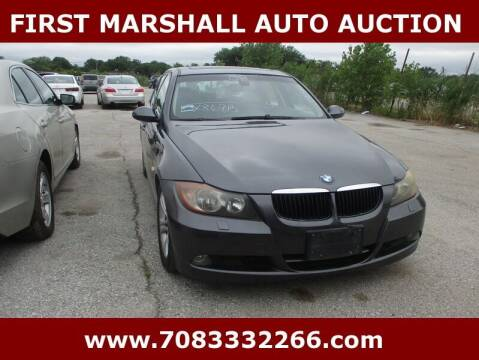 2008 BMW 3 Series for sale at First Marshall Auto Auction in Harvey IL