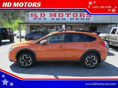 2014 Subaru XV Crosstrek for sale at HD MOTORS in Kingsport TN