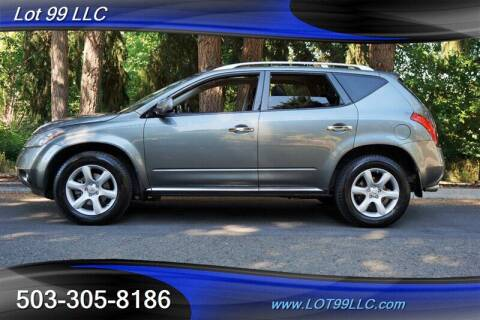 2007 Nissan Murano for sale at LOT 99 LLC in Milwaukie OR