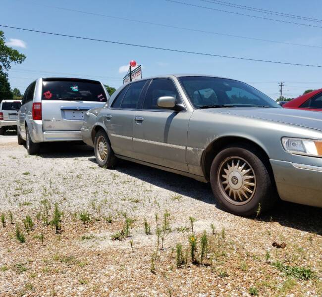 1998 Mercury Grand Marquis for sale at Scarletts Cars in Camden TN