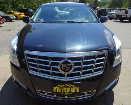 2013 Cadillac XTS for sale at MOUNTAIN VIEW AUTO in Lyndonville VT