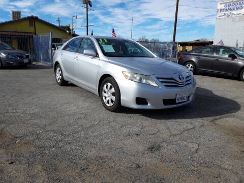 2011 Toyota Camry for sale at Autosales Kingdom in Lancaster CA