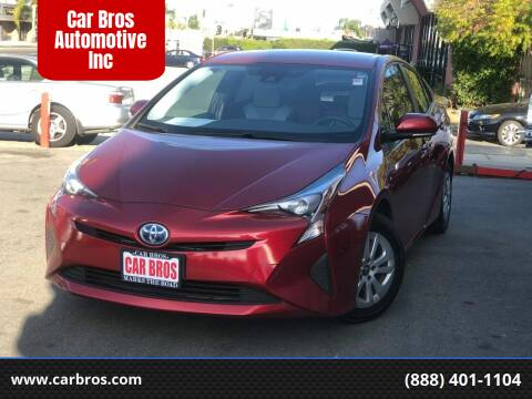 2017 Toyota Prius for sale at Car Bros Automotive Inc in Lomita CA