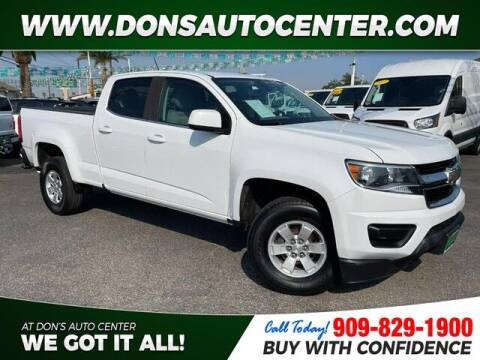 2018 Chevrolet Colorado for sale at Dons Auto Center in Fontana CA