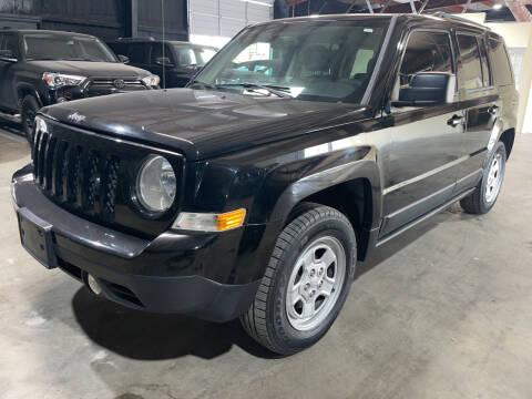 2015 Jeep Patriot for sale at Safe Trip Auto Sales in Dallas TX