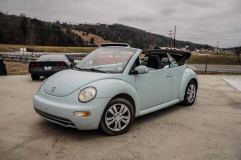 2005 Volkswagen New Beetle Convertible for sale at CarUnder10k in Dayton TN