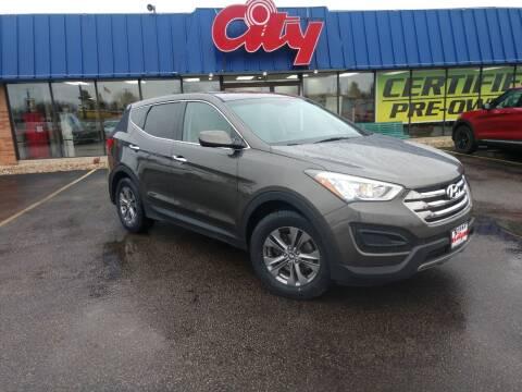 2014 Hyundai Santa Fe Sport for sale at CITY SELECT MOTORS in Galesburg IL