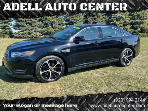 2016 Ford Taurus for sale at ADELL AUTO CENTER in Waldo WI